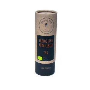 Röda Linser EKO 190g – 1kg