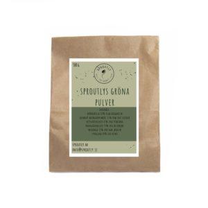 Sproutlys gröna smoothie pulver