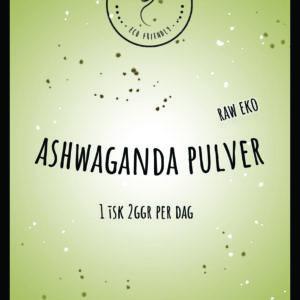 Ashwagandha Pulver Raw EKO 150g