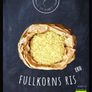 Fullkornsris/Råris EKO 1 kg
