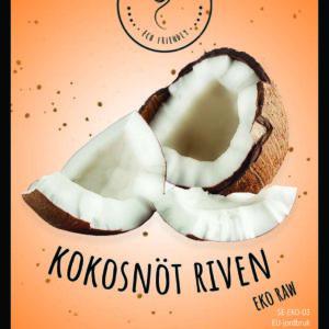 Kokosnöt riven EKO Raw 500g