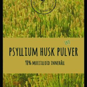 Psyllium Husk pulver 98 % EKO 250 – 1000g