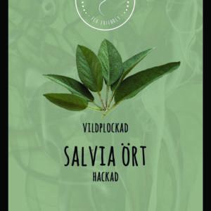 Salvia ört hackad VILDPLOCKAD 100 g