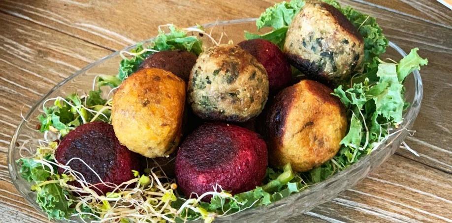 4 varianter på veganbullar